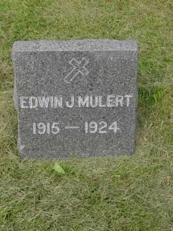 MULERT, EDWIN J. - Kossuth County, Iowa | EDWIN J. MULERT