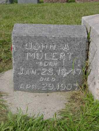 MULERT, JOHN A. - Kossuth County, Iowa | JOHN A. MULERT
