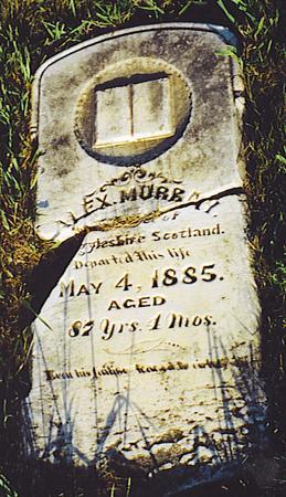 MURRAY, ALEXANDER - Kossuth County, Iowa   ALEXANDER MURRAY