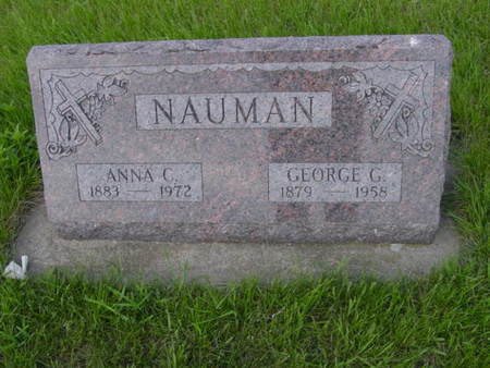NAUMAN, GEORGE G. - Kossuth County, Iowa | GEORGE G. NAUMAN