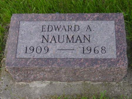 NAUMAN, EDWARD A. - Kossuth County, Iowa   EDWARD A. NAUMAN