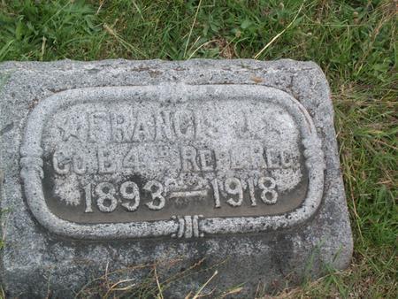 NEMMERS, FRANCIS J. - Kossuth County, Iowa   FRANCIS J. NEMMERS
