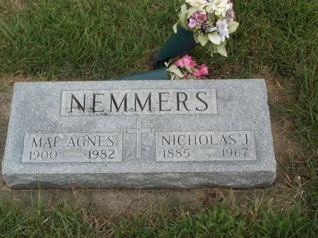 NEMMERS, MAE AGNES - Kossuth County, Iowa | MAE AGNES NEMMERS