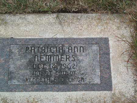NEMMERS, PATRICIA ANN - Kossuth County, Iowa | PATRICIA ANN NEMMERS