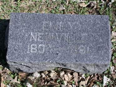 NEWVILLE, EMILY - Kossuth County, Iowa   EMILY NEWVILLE