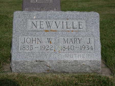 SHEPARD NEWVILLE, MARY - Kossuth County, Iowa | MARY SHEPARD NEWVILLE