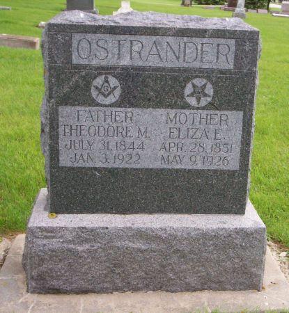 OSTRANDER, THEODORE M - Kossuth County, Iowa | THEODORE M OSTRANDER