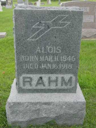 RAHM, ALOIS - Kossuth County, Iowa | ALOIS RAHM