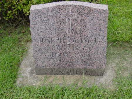 RAHM, JOSEPH JR. - Kossuth County, Iowa | JOSEPH JR. RAHM