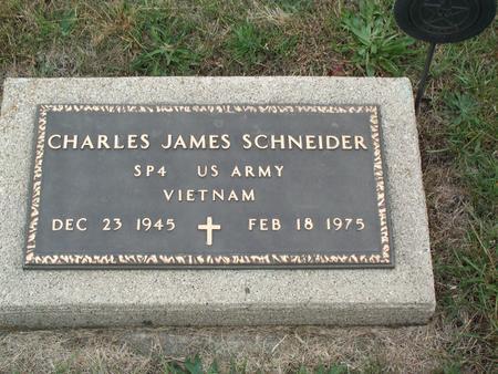 SCHNEIDER, CHARLES JAMES - Kossuth County, Iowa | CHARLES JAMES SCHNEIDER