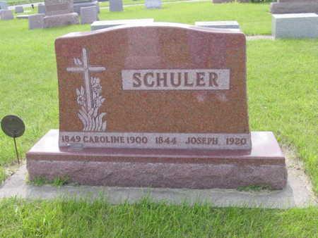SCHULER, CAROLINE - Kossuth County, Iowa | CAROLINE SCHULER