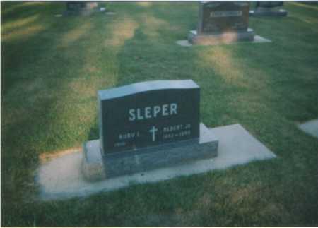 SLEPER, ALBERT - Kossuth County, Iowa | ALBERT SLEPER