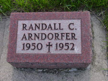 ARNDORFER, RANDALL C. - Kossuth County, Iowa   RANDALL C. ARNDORFER