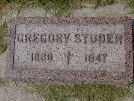 STUDER, GREGORY - Kossuth County, Iowa | GREGORY STUDER
