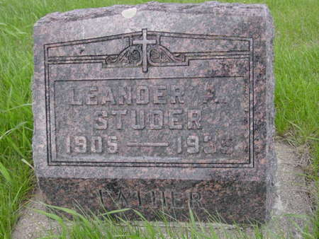 STUDER, LEANDER A. - Kossuth County, Iowa | LEANDER A. STUDER