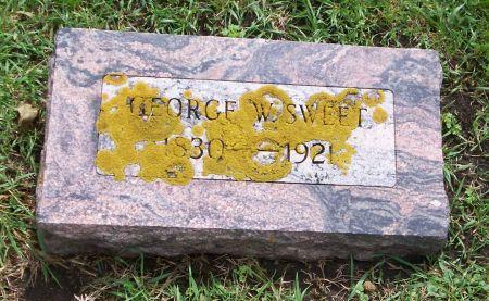 SWEET, GEORGE W. - Kossuth County, Iowa | GEORGE W. SWEET
