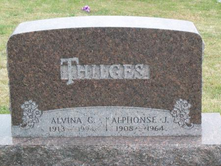 THILGES, ALVINA C. - Kossuth County, Iowa | ALVINA C. THILGES