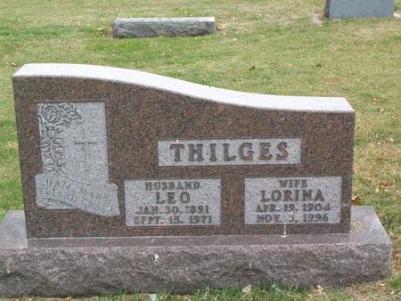 THILGES, LORINA - Kossuth County, Iowa | LORINA THILGES