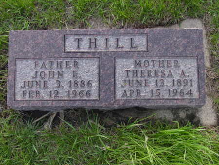 THILL, THERESA A. - Kossuth County, Iowa   THERESA A. THILL