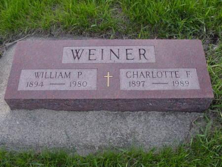 WEINER, WILLIAM P. - Kossuth County, Iowa | WILLIAM P. WEINER