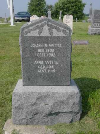 WITTE, JOHANN B. - Kossuth County, Iowa | JOHANN B. WITTE