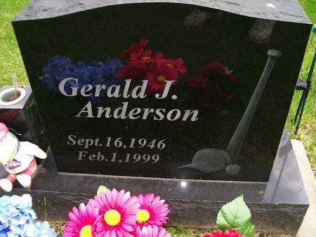 ANDERSON, GERALD J. - Lee County, Iowa   GERALD J. ANDERSON
