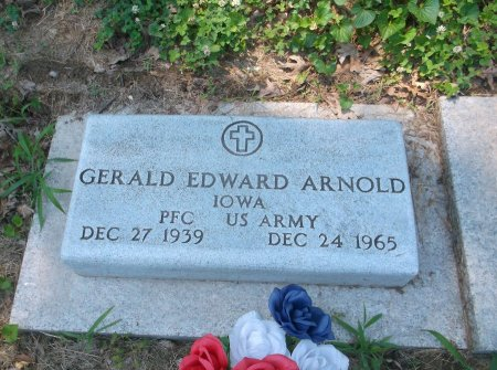 ARNOLD, GERALD EDWARD - Lee County, Iowa | GERALD EDWARD ARNOLD