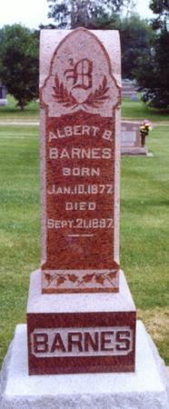 BARNES, ALBERT B. - Lee County, Iowa | ALBERT B. BARNES