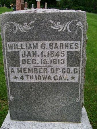 BARNES, WILLIAM C. - Lee County, Iowa   WILLIAM C. BARNES