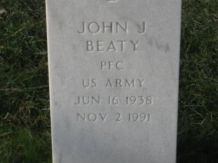 BEATY, JOHN  J. - Lee County, Iowa   JOHN  J. BEATY