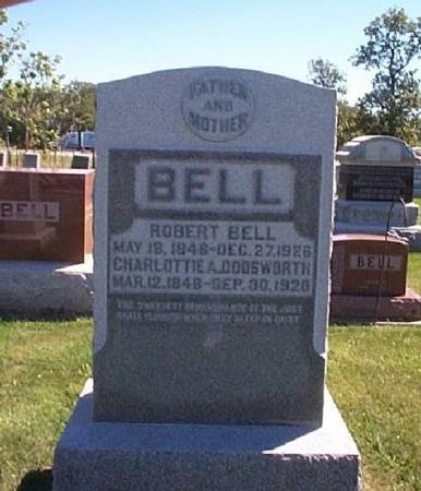 BELL, ROBERT & CHARLOTTIE A. - Lee County, Iowa | ROBERT & CHARLOTTIE A. BELL