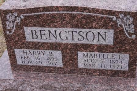 BENGTSON, HARRY B. - Lee County, Iowa   HARRY B. BENGTSON