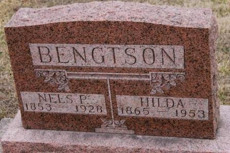 POLSON BENGSTON, HILDA - Lee County, Iowa   HILDA POLSON BENGSTON