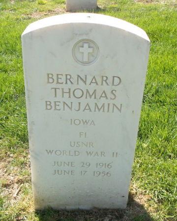 BENJAMIN, BERNARD THOMAS - Lee County, Iowa | BERNARD THOMAS BENJAMIN