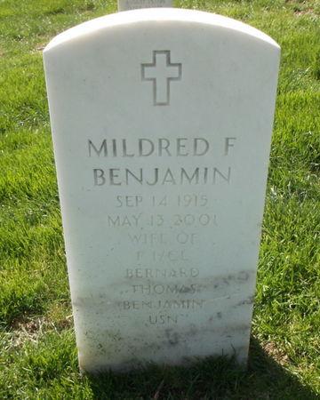 BENJAMIN, MILDRED F. - Lee County, Iowa | MILDRED F. BENJAMIN