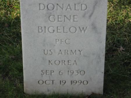 BIGELOW, DONALD  GENE - Lee County, Iowa | DONALD  GENE BIGELOW