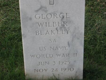 BLAKELY, GEORGE WILBUR - Lee County, Iowa   GEORGE WILBUR BLAKELY