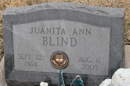 BLIND, JUANITA ANN - Lee County, Iowa | JUANITA ANN BLIND