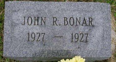BONAR, JOHN R. - Lee County, Iowa   JOHN R. BONAR