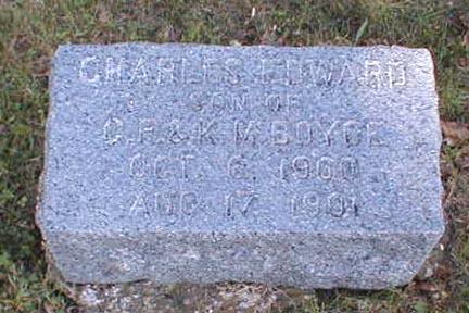 BOYCE, CHARLES EDWARD - Lee County, Iowa   CHARLES EDWARD BOYCE
