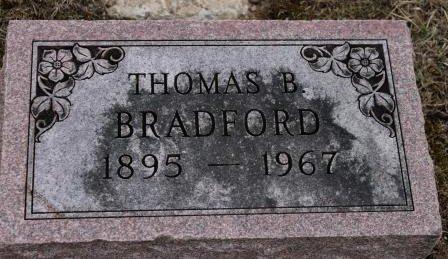 BRADFORD, THOMAS B. - Lee County, Iowa | THOMAS B. BRADFORD