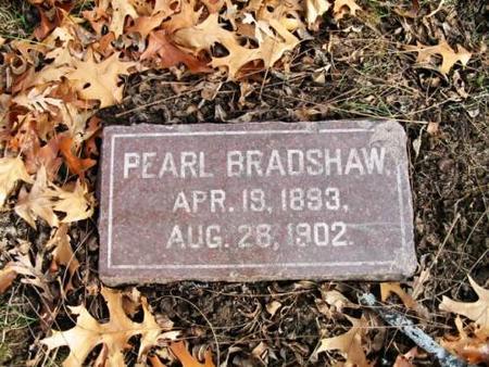 BRADSHAW, PEARL - Lee County, Iowa | PEARL BRADSHAW