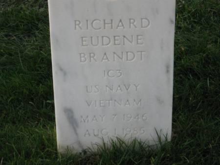 BRANDT, RICHARD EUDENE - Lee County, Iowa   RICHARD EUDENE BRANDT