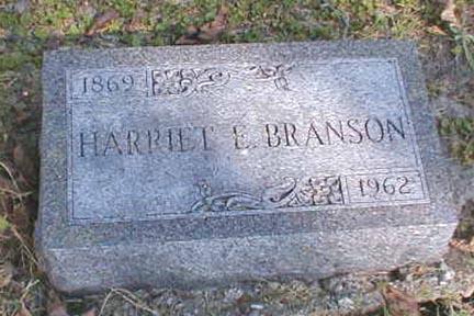 BRANSON, HARRIET E. - Lee County, Iowa | HARRIET E. BRANSON