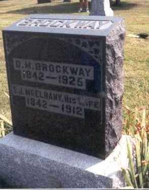 MCELHANY BROCKWAY, SARAH JANE - Lee County, Iowa | SARAH JANE MCELHANY BROCKWAY
