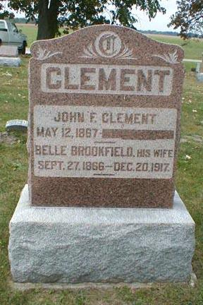 BROOKFIELD CLEMENT, BELLE - Lee County, Iowa | BELLE BROOKFIELD CLEMENT