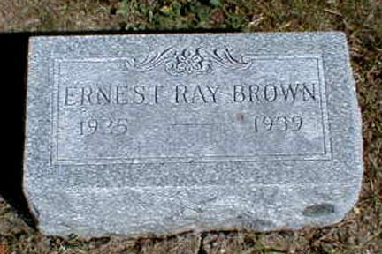 BROWN, ERNEST  RAY - Lee County, Iowa | ERNEST  RAY BROWN