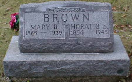 BROWN, MARY B. - Lee County, Iowa | MARY B. BROWN