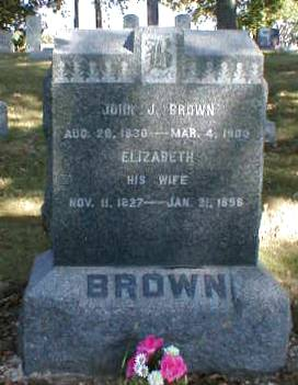 BROWN, JOHN J. - Lee County, Iowa | JOHN J. BROWN