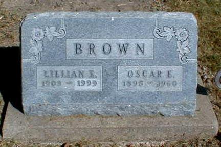 BROWN, LILLIAN E. - Lee County, Iowa | LILLIAN E. BROWN